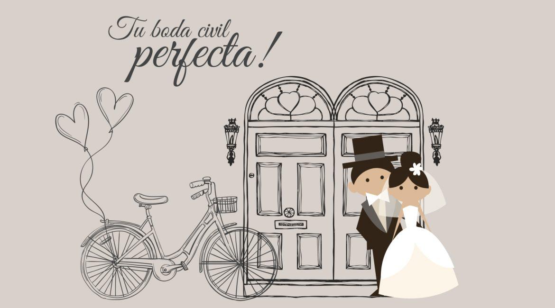 Organiza tu boda civil perfecta
