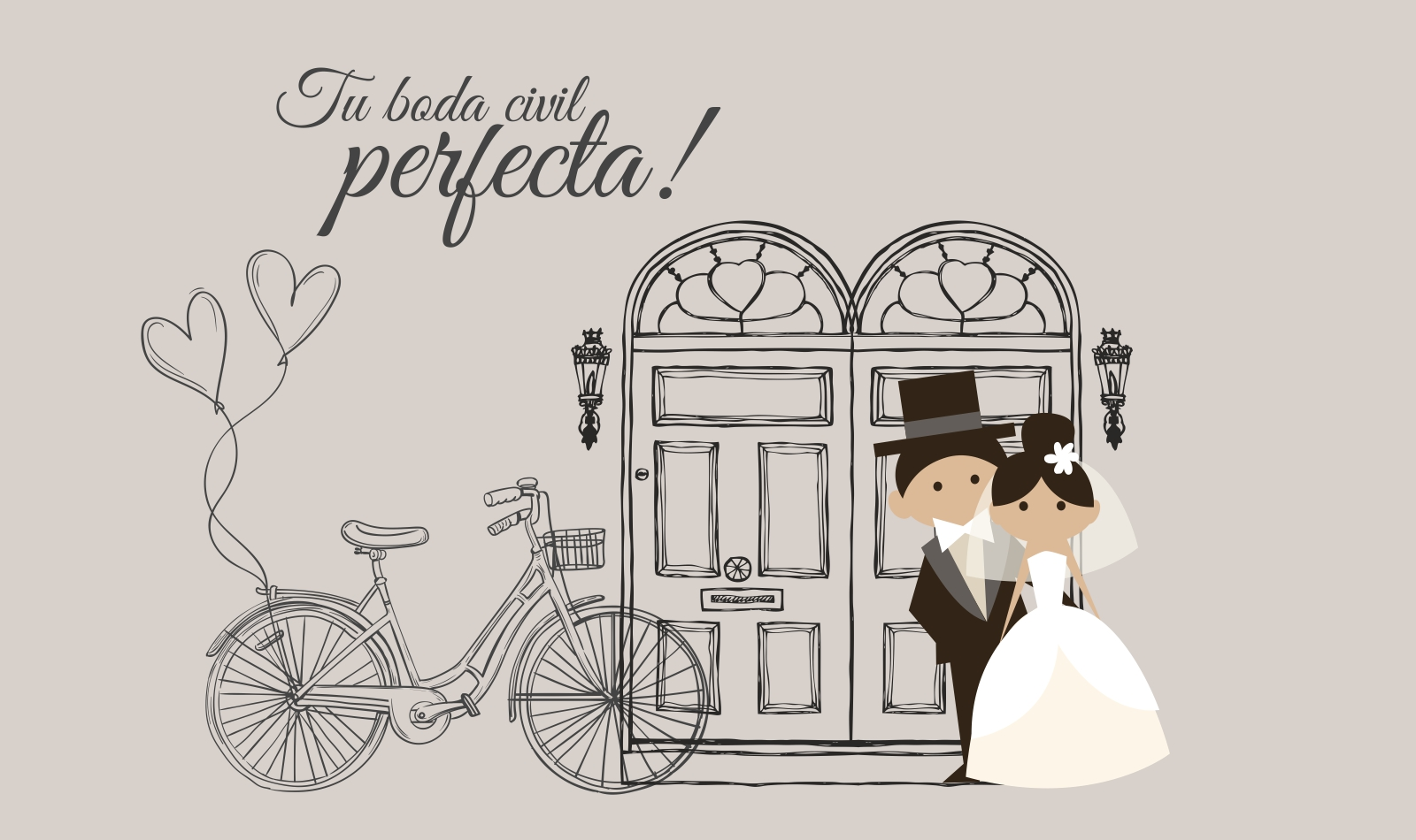 Organiza tu boda civil perfecta
