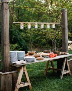 Ideas para decorar una mesa de postres