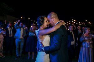 Fotografia romantica de bodas